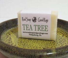 Tea Tree Soap All Natural Handcrafted