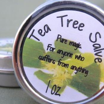 All Natural Tea Tree Salve
