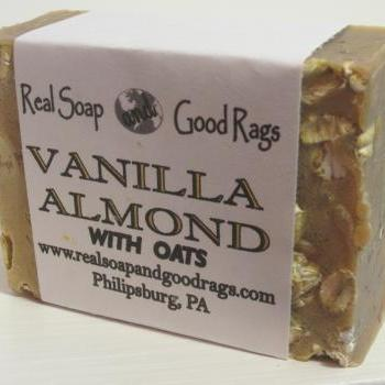 Vanilla Almond Handcrafted Cold Process Soap